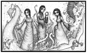 Witches of Earth Wind n Water3 by genesis