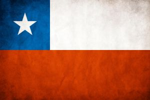 Chile Grungy Flag by think0