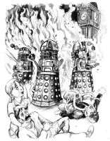 Dirge of the Daleks by cluedog