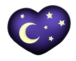 Cutie Mark Auction  - Moon Heart -[CLOSE] by DelLyra