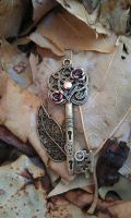 Mechanical Forest Fantasy Key by ArtByStarlaMoore