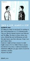 Once a cop, Always a cop[English Version, How?] by Cocoz42