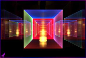 3D cubes by coby01