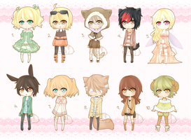 100 Adopts batch 1 Auction [Closed] by youimi