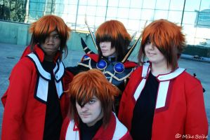 Afest 2010: Judai family by Malindachan