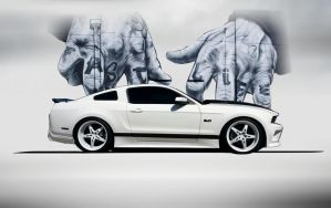 5.0 Mustang by lovelife81