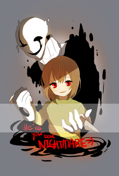 [Undertale]nightmare by herbflavor