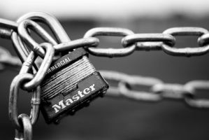 Master Lock by ChadYoungPhotography