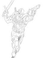 Deathstroke by AirlessGOOSE