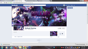 Facebook Page Set for Walkash by ciael