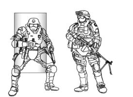 The New War Soldiers1 by warman707