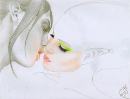 Kiss of Venom WIP by RoseOnyxis