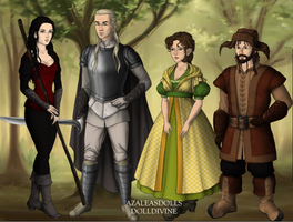LOTR/Hobbit next gen. side cast by art-is-my-bream