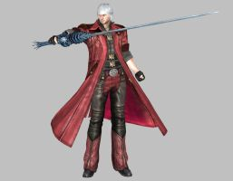 Devil May Cry 4 - Dante #1 by IshikaHiruma