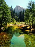 Half-dome reflected by artamusica