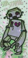 my robots are purple by cephalopode