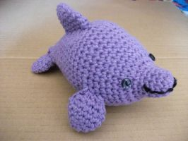 Purple Dolphin by MadeWithLove8