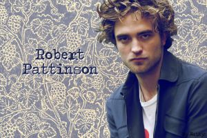Robert Pattinson in Blue by BLUESIE