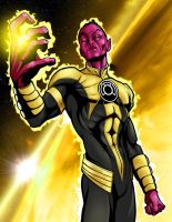 Sinestro's Might by JarOfComics