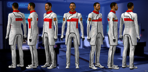 Human doctor from Mass Effect 3 by Melllin