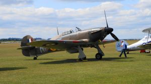 Hawker Hurricane by OnionTheKiller