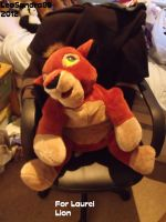 Big Kovu Plush by LeoSandra85