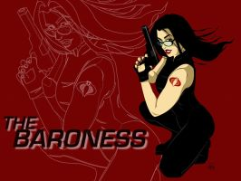 the baroness sceensaver by saltygirl