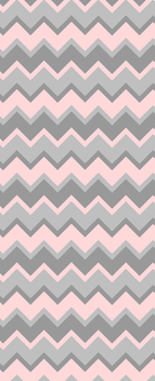 Pink and Grey Chevron - Custom Box Background by SugareeSweets
