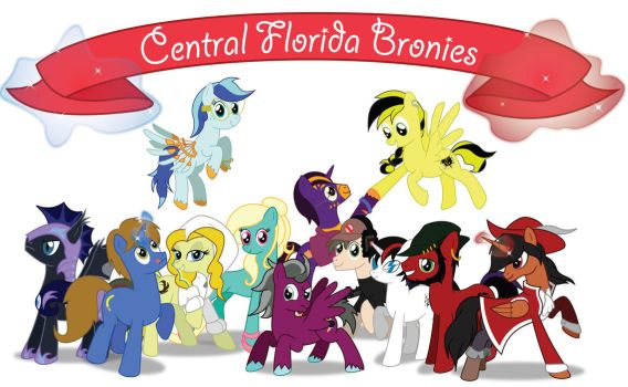Central Florida Bronies Unite! by nessapagan