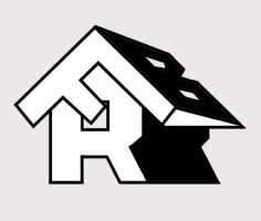 roofing logo by lxixska