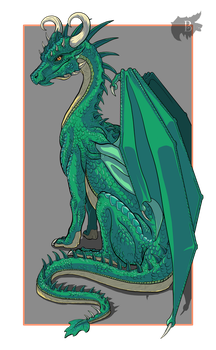 Behane the Dragoness by Behane