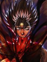 Hiei by Gold-copper