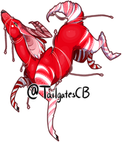 Christmas Deer adopt #1 /open //lowered price by tailgatescutebooty