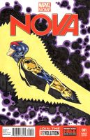 Nova blank cover with colors by guillomcool