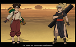 The Tenten and Temari Oni Transformation I by Chronorin
