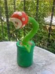 Piranha Plant Sculpture For Sale by IrashiRyuu