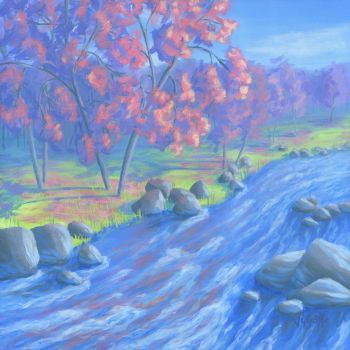AUTUMN RIVER by VyGotte
