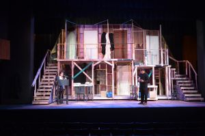 Noises Off - Back of Set by HGriffin