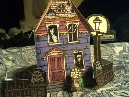 Creepytowne Haunted House Set by RozzRIP1334