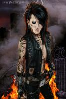 Ashley Purdy Black Veil Brides by Cynthia-Blair