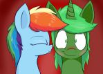 Dashie and I by blaa6