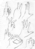 Hands by sohol