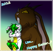 Happy Easter! - 2012 by InuHoshi