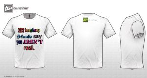Imaginary Friend T-Shirt by kait55