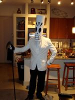 Grim Fandango Costume by Lonecow