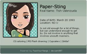 Face Your Manga ID by paper-sting