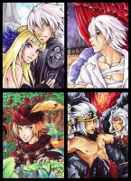 Odin Sphere ACEO Set by cross-works