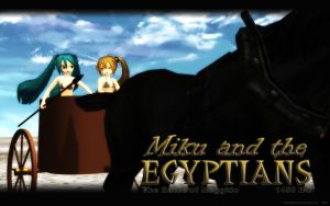 MMD Miku and the Egyptians - PART 1 by Trackdancer