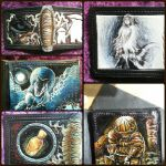 Dark Souls leather wallets collage by Bubblypies