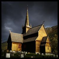 Lom Stavkirke by jonpacker